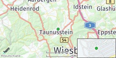 Google Map of Taunusstein