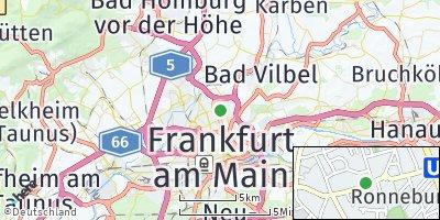 Google Map of Eckenheim