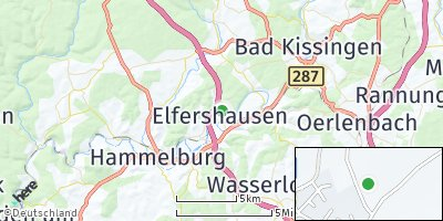 Google Map of Elfershausen