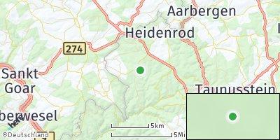 Google Map of Heidenrod