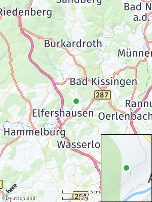 Here Map of Aura an der Saale