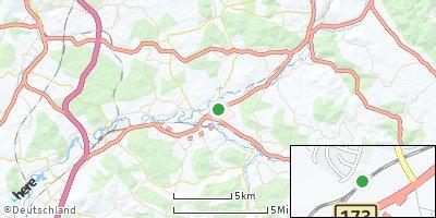 Google Map of Redwitz an der Rodach