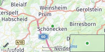 Google Map of Schönecken