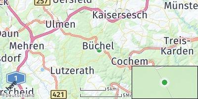Google Map of Büchel bei Cochem