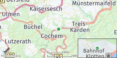 Google Map of Klotten