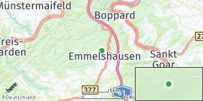 Google Map of Halsenbach