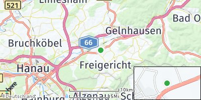 Google Map of Hasselroth