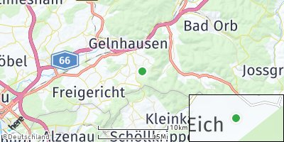 Google Map of Linsengericht