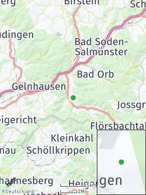 Here Map of Biebergemünd