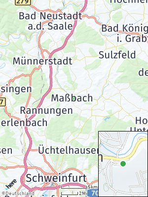 Here Map of Maßbach