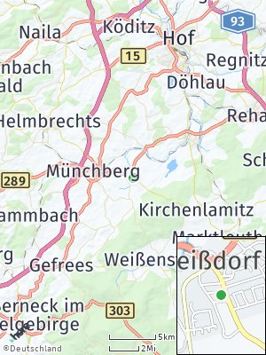 Here Map of Weißdorf