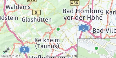 Google Map of Kronberg im Taunus