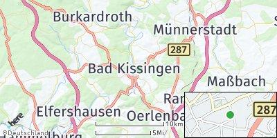 Google Map of Bad Kissingen