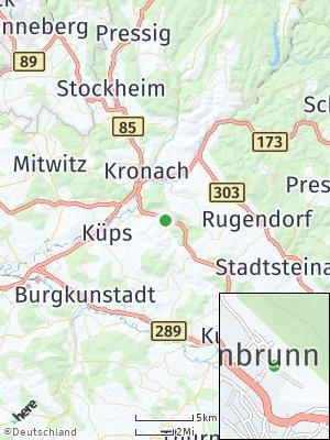 Here Map of Weißenbrunn