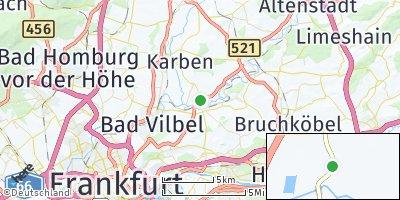 Google Map of Niederdorfelden