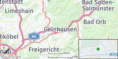 Google Map of Gelnhausen