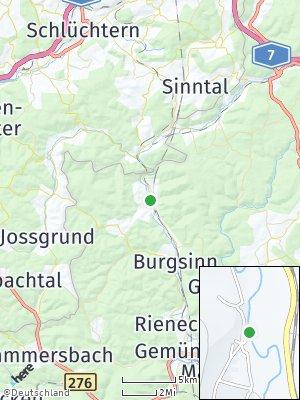 Here Map of Mittelsinn