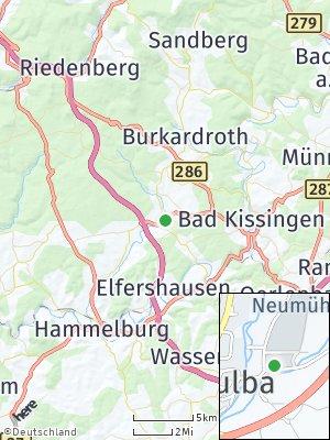 Here Map of Oberthulba