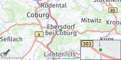 Google Map of Ebersdorf