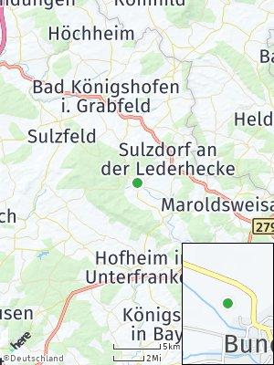 Here Map of Bundorf