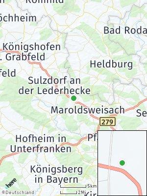 Here Map of Ermershausen