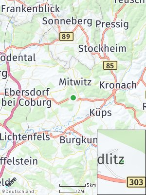 Here Map of Schneckenlohe