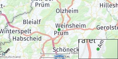 Google Map of Prüm