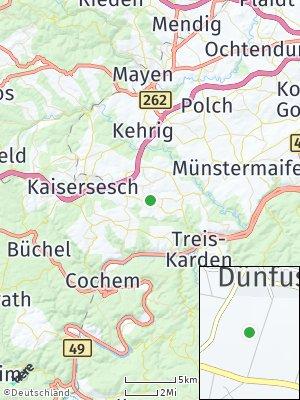 Here Map of Dünfus
