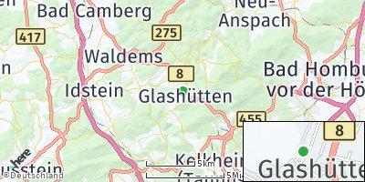 Google Map of Glashütten