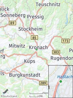 Here Map of Kronach