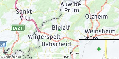 Google Map of Bleialf