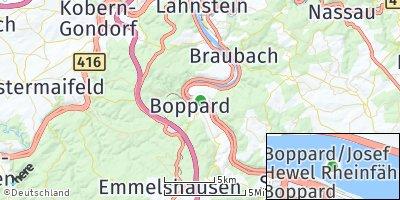 Google Map of Boppard