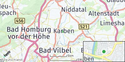 Google Map of Karben