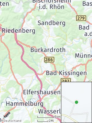 Here Map of Poppenroth