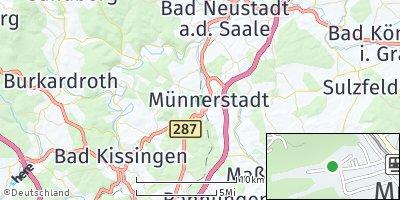 Google Map of Münnerstadt