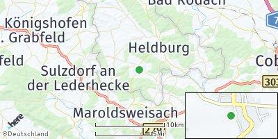 Google Map of Hellingen