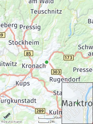 Here Map of Marktrodach