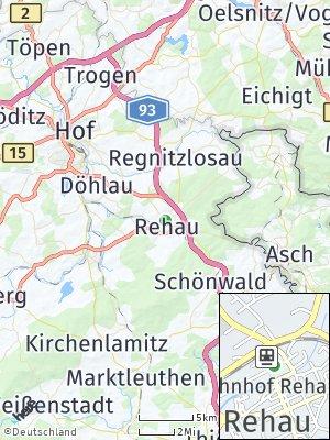 Here Map of Rehau