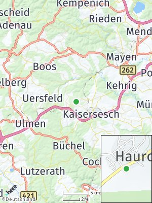 Here Map of Hauroth
