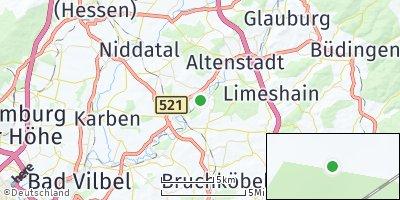 Google Map of Nidderau