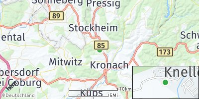 Google Map of Knellendorf
