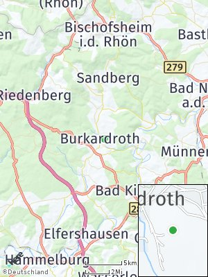 Here Map of Burkardroth