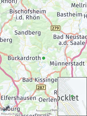 Here Map of Bad Bocklet