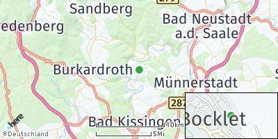 Google Map of Bad Bocklet