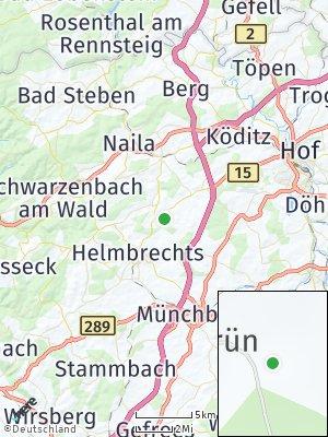 Here Map of Schauenstein