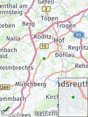 Here Map of Konradsreuth