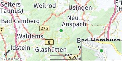 Google Map of Schmitten