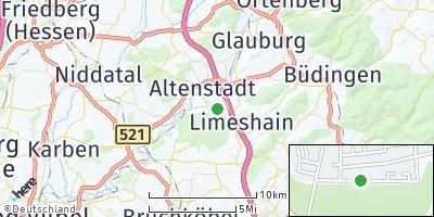 Google Map of Limeshain