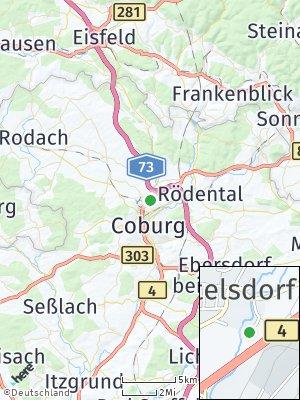 Here Map of Bertelsdorf