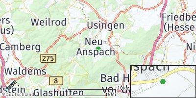 Google Map of Neu-Anspach